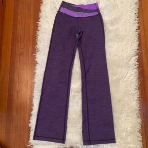 Lululemon purple yoga pants